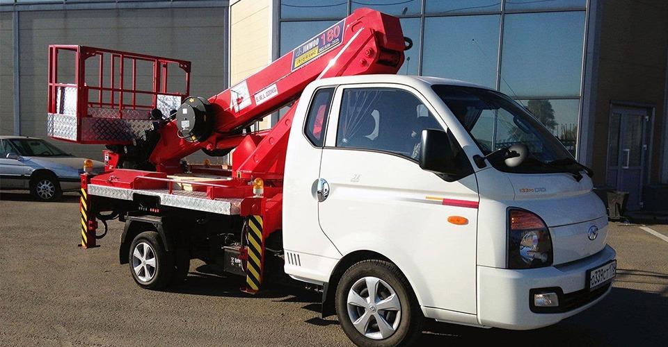 Аренда автовышки 18 метров Hyundai
