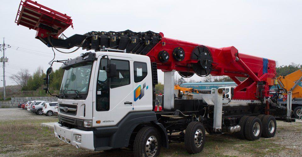 Аренда автовышки Hyundai Телескоп 65 метров