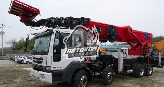 Аренда автовышки Hyundai 65 метров