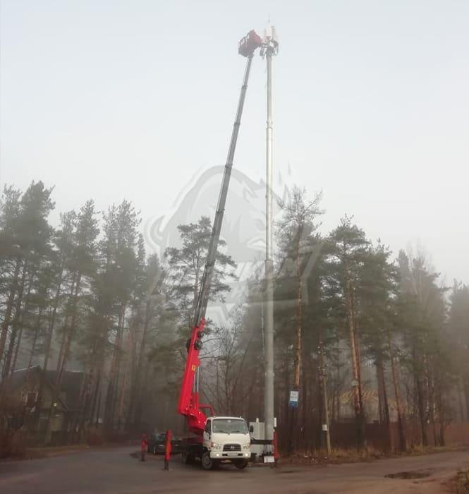 Аренда автовышки в Ленинградской области