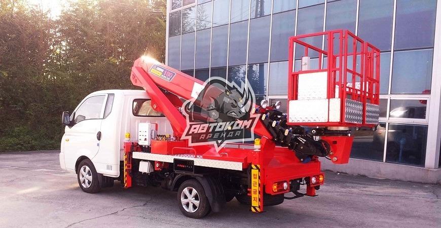 Аренда автовышки 12 метров Hyundai Телескоп