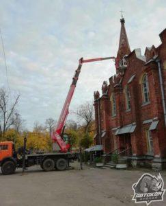 Ремонт фасада в СПб