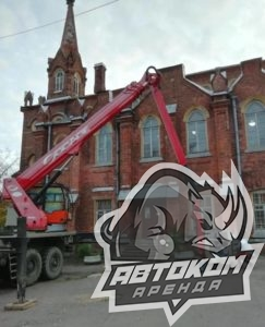 Ремонт фасада автовышки в СПб